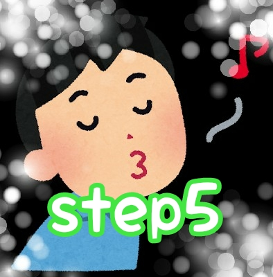 口笛の音階練習